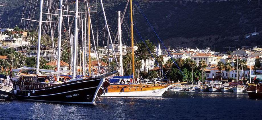 kas harbour turkey