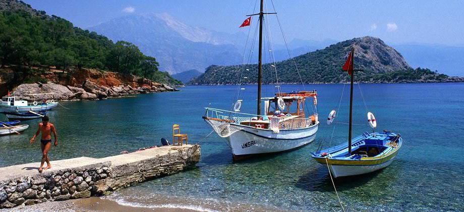 pebble beach in Turkey